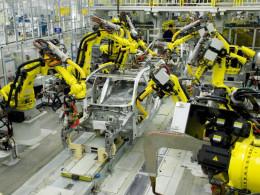 Robotický hydraulický žeriav