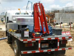 Hydraulický žeriav na nákladné auto
