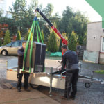 hydraulický žeriav