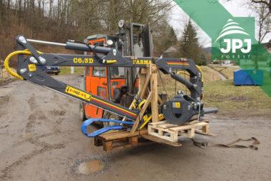 Hydraulická ruka FARMA C 6,3G2 pre montáž na pracovný stroj