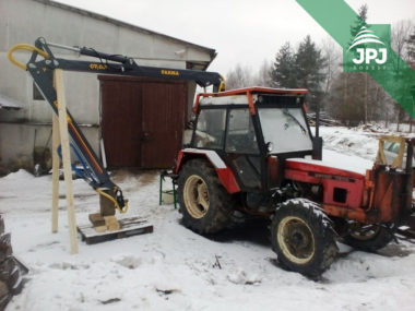 Hydraulická ruka FARMA C 7,0G2 pre montáž na UKT Zetor 7245