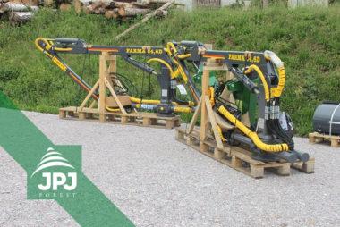 Hydraulickej ruky FARMA C 4,6D - dodanie pre výrobcov lesníckej techniky