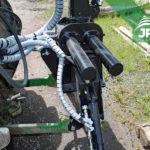 Zapojenie hydraulickej ruky Vahva Jussi za traktor