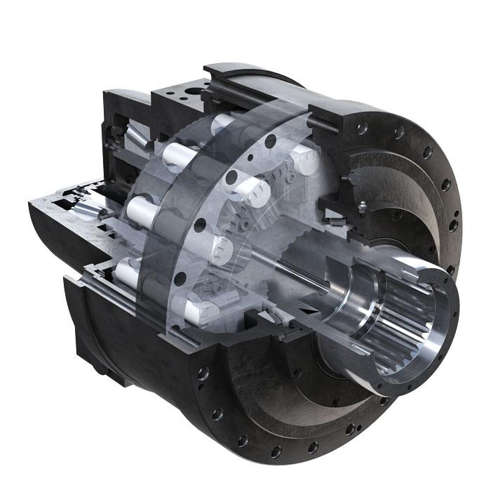 Hydraulické motory Black Bruin séria S